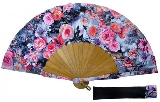 8033- Handcrafted Wooden Fan