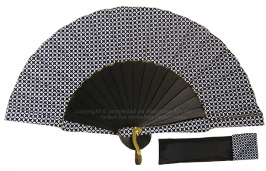8048- Handcrafted Wooden Fan