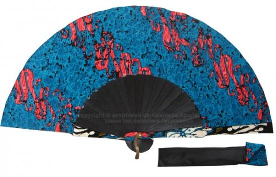 8050- Handcrafted Wooden Fan