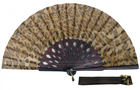 8055 - Abanico madera artesanal