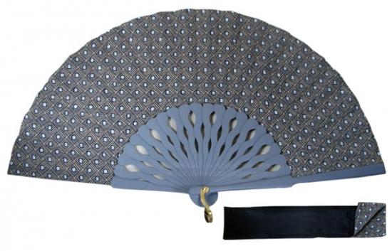 8059 – Handcrafted Wooden Fan
