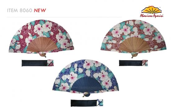 8060 – Handcrafted Wooden Fan