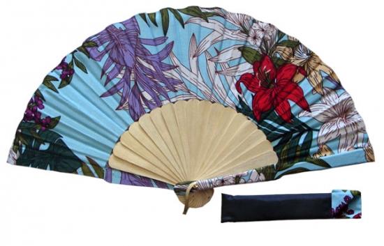 8067 – Handcrafted Wooden Fan