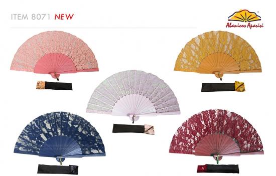8071 – Handcrafted Wooden Fan