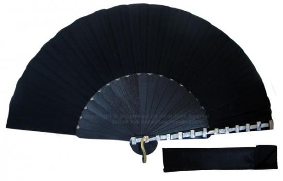 8075 – Handcrafted Wooden Fan