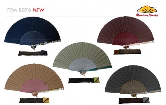 8076 – Handcrafted Wooden Fan
