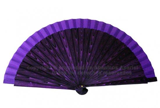 904 – Acrylic fan wooden assorted design