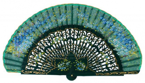 9431 – hand painted luxurious fan