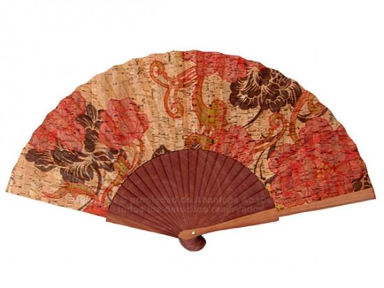 9901 – Polished wood fan cork fabric