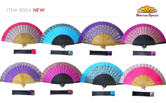 8004 – Handcrafted Wooden Fan